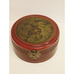 Boîte à bijoux chinoise 16,5xH8cm