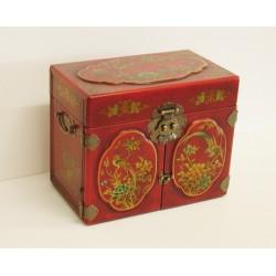 Boîte à bijoux chinoise 26x16x20