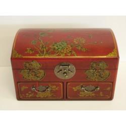 Boîte à bijoux chinoise 30x18x18