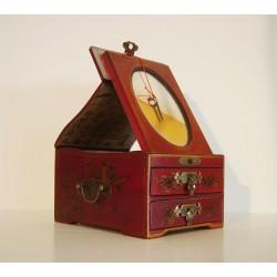 Boîte à bijoux chinoise 21x16xH11 cm