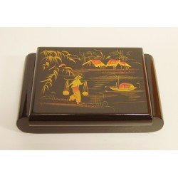 Boîte à bijoux vietnamienne 19x13