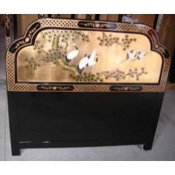 Tête de lit chinoise 137x122
