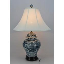 Lampe vietnamienne hué H64cm