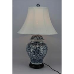 Lampe porcelaine H75 cm