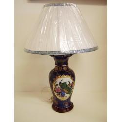 Lampe chinoise en céramique H:70cm