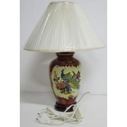 Lampe chinoise de chevet H43cm