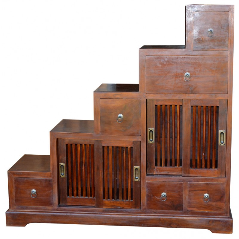 meuble escalier indon sien la baie d 39 halong. Black Bedroom Furniture Sets. Home Design Ideas