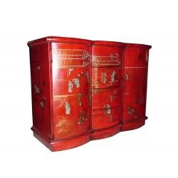 Buffet cuir 106x46x85 cm