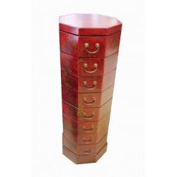 Colonne chinoise 8 tiroirs 36x36x106