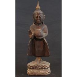 Statue de Bouddha ancien debout H37cm