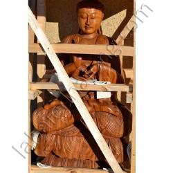Bouddha bois 100cm
