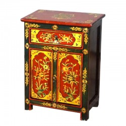 Chevet tibétain L52xP38xH55 cm