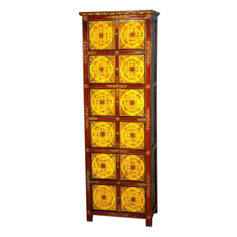 armoire tib taine 8 portes import d 39 asie. Black Bedroom Furniture Sets. Home Design Ideas