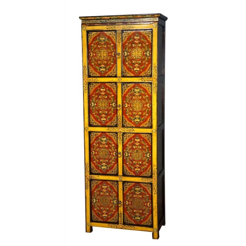 armoire tib taine 8 portes la baie d 39 halong. Black Bedroom Furniture Sets. Home Design Ideas