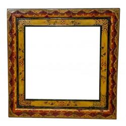 Miroir tibétain 90x90 cm