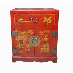 Meuble d'appoint chinois 51x41x61