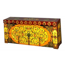 Coffre tibétain 140x41x65
