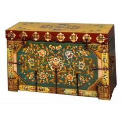 Coffre tibétain 100x40x65