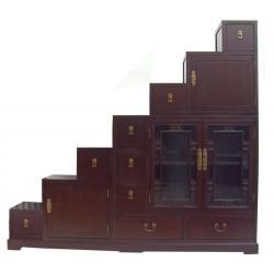 Escalier coréen 160x40x166 cm