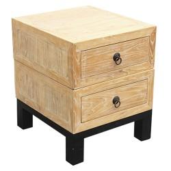 Chevet chinois bois 46x50x56