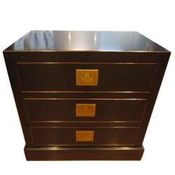 Commode 3 tiroirs 58x38x58 cm