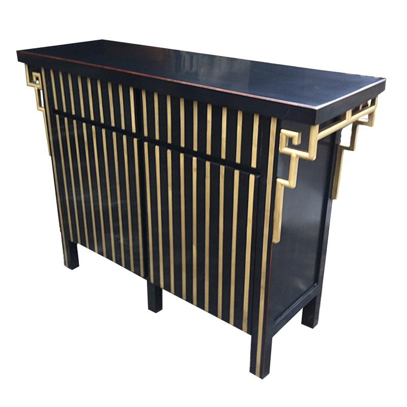 buffet 140x40x90 cm la baie d 39 halong. Black Bedroom Furniture Sets. Home Design Ideas