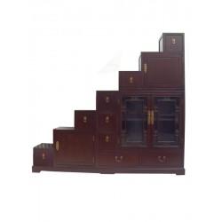 Meuble escalier coréen 168x40x168