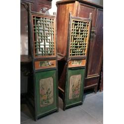 Portes chinoises anciennes de Pékin