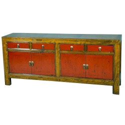 Buffet chinois bicolor L193xP45xH86 cm