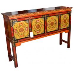 Console tibétaine 135x32x90 cm