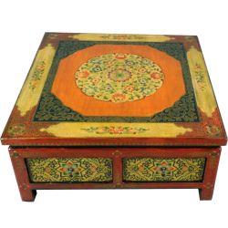 Table de salon tibétaine