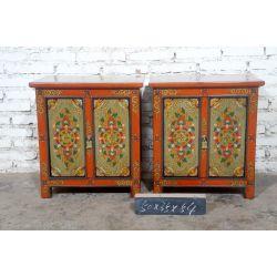 Chevet tibétain 50x34x68 cm