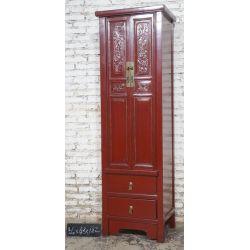 Armoire lady rouge 56x43x182cm