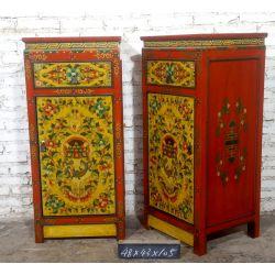 Colonne tibétaine 1P 1T - 48x43x105 cm