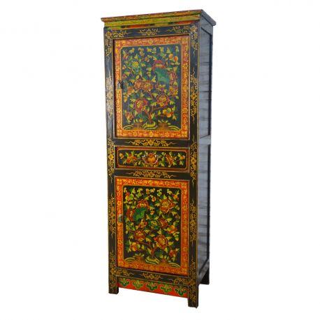Armoire du Tibétaine L70xP40xH170 cm