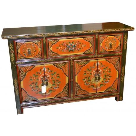 buffet tib tain l140xp42xh90 cm la baie d 39 halong. Black Bedroom Furniture Sets. Home Design Ideas