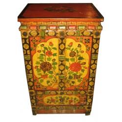 Meuble d'appoint tibétain 53x43x86