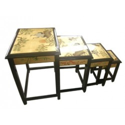Tables gigognes chinoises 51x37x69