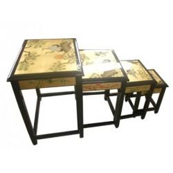 Tables gigognes chinoises 51x37x69